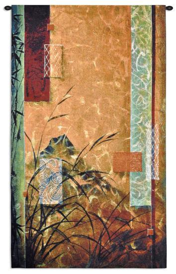 Volcanic Bamboo-Don Li-Leger-Wall Tapestry