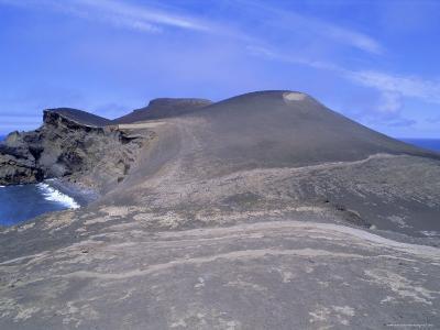 Volcanic Landscape, Pointe De Capelinhos (Capelinhos Point), Faial Island, Azores, Portugal-J P De Manne-Photographic Print