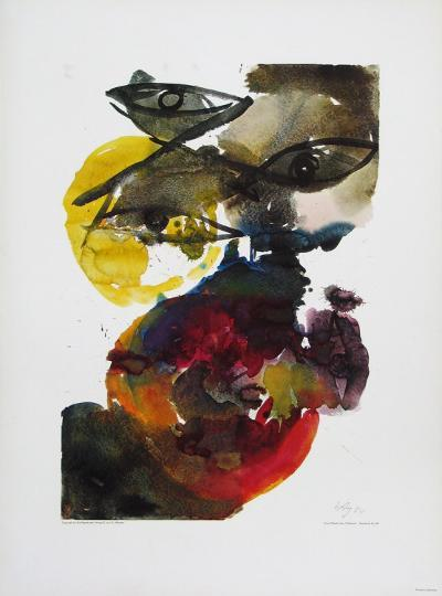 Volcanic-Ernst  Wilhelm Nay-Collectable Print