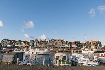 Volendam Harbour, North Holland Province, the Netherlands (Holland), Europe-Mark Doherty-Photographic Print