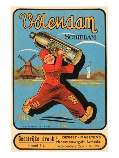 Volendam Schiedam--Art Print