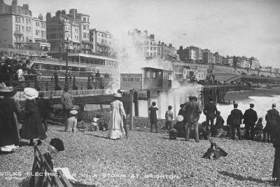 Volk's Electric Railway, Brighton--Photographic Print