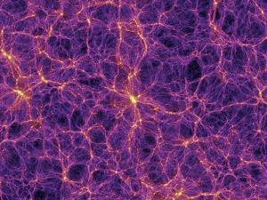 Dark Matter Distribution by Volker Springel