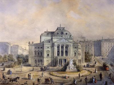 Volks Theater, Vienna-Johann Wilhelm Frey-Giclee Print
