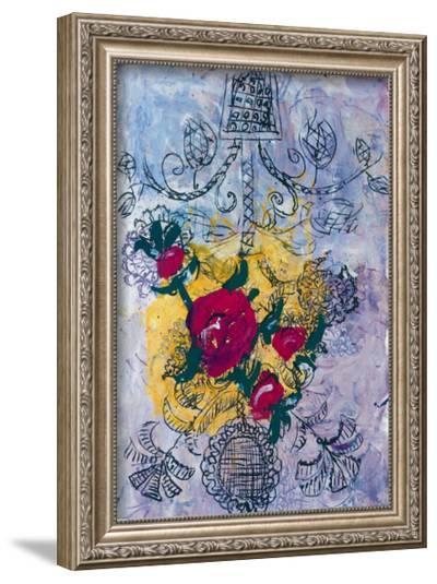 Volkskunst, c.1997-Georg Baselitz-Framed Art Print