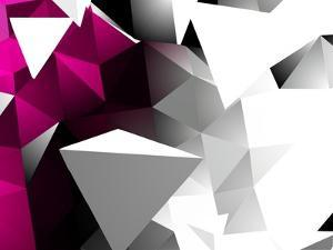 Abstract Triangular Background by VolsKinvols