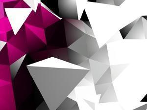Abstract Triangular Background by VolsKinvols
