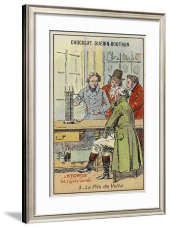 Volta's Battery--Framed Giclee Print