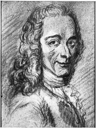 Voltaire, French Enlightenment Writer, Essayist, Deist and Philosopher, 18th Century--Giclee Print