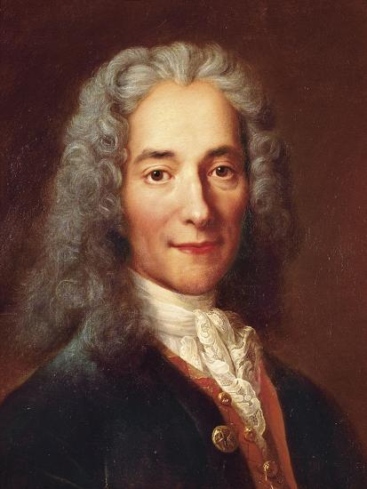 Voltaire-Catherine Lusurier-Art Print