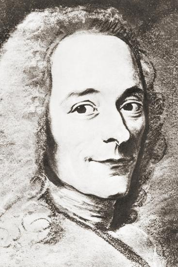Voltaire--Giclee Print