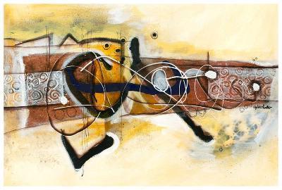 Volubilité-Sylvie Cloutier-Art Print