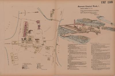 Volume 14, Rancocas Chemical Works, Hexamer General Surveys, Burlington, New Jersey, 1878-Ernest Hexamer-Giclee Print