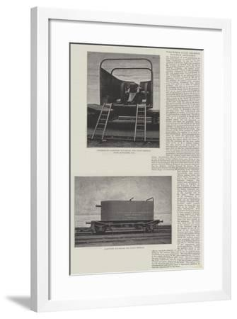 Volunteer Coast Defence, Railway Artillery--Framed Giclee Print