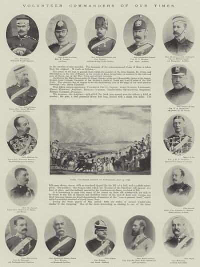Volunteer Commanders of Our Times--Giclee Print