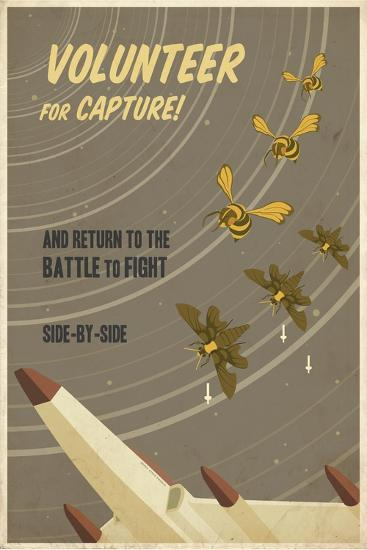 Volunteer for Capture-Steve Thomas-Giclee Print