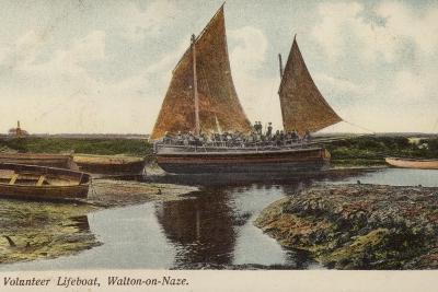 Volunteer Lifeboat, Walton-On-Naze--Photographic Print