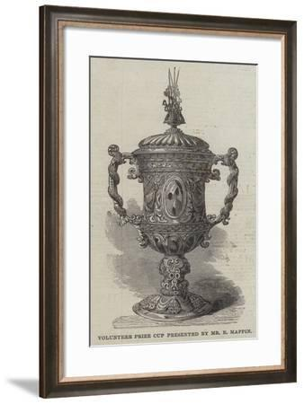 Volunteer Prize Cup Presented by Mr E Mappin--Framed Giclee Print
