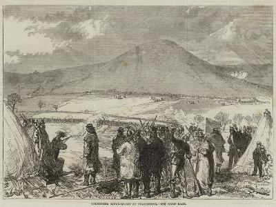Volunteer Rifle-Match at Folkestone--Giclee Print