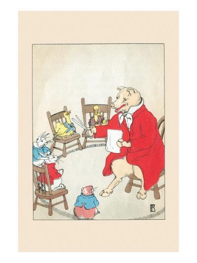 Volunteer Teacher-Frances Beem-Art Print