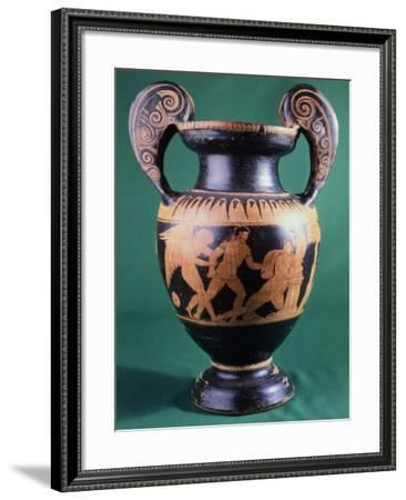 Volute Krater--Framed Giclee Print
