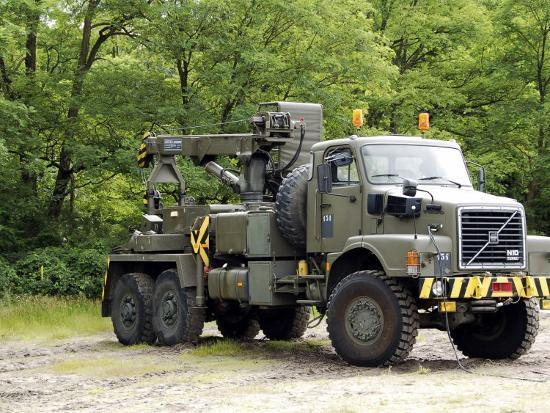 Volvo N10 Truck of the Belgian Army-Stocktrek Images-Photographic Print