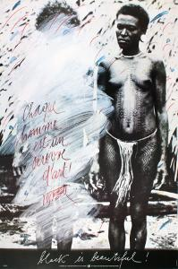 Black is Beautiful by Vostell