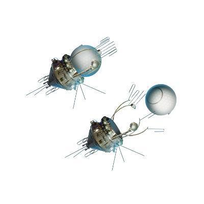 Vostok 1 Capsule Separation, Artwork-Detlev Van Ravenswaay-Giclee Print