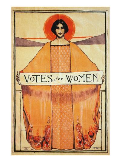 Votes For Women, 1911--Giclee Print