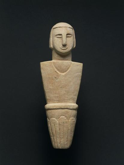 Votive Statue, from Brochtorff Circle at Xaghra, Gozo Island--Giclee Print