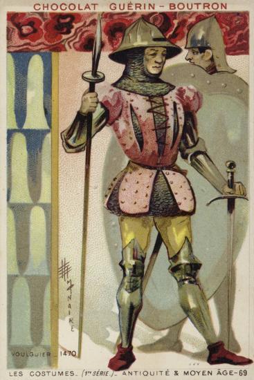 Voulgier, 15th Century--Giclee Print