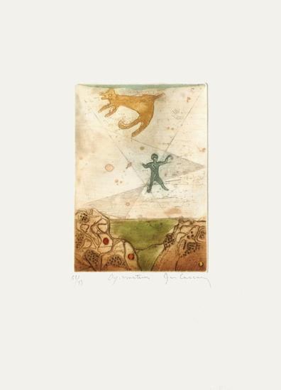 Voyage Au Del? De La Terre IV-Ren? Carcan-Limited Edition