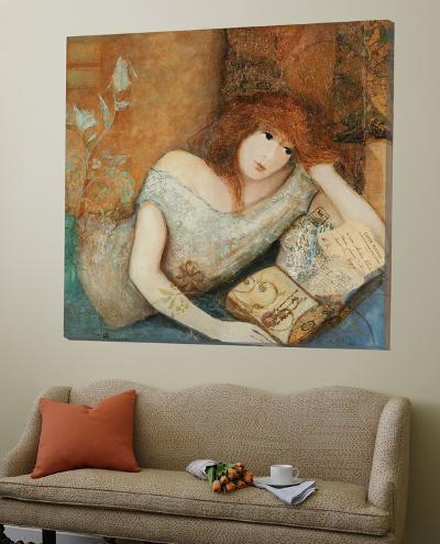 Voyage Imagin?-Huguette Lagac?-Loft Art