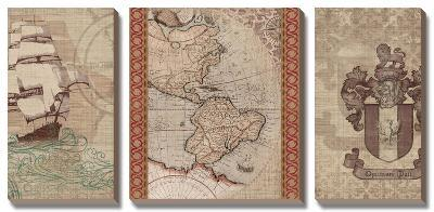 Voyage to Discovery II-Amori-Canvas Art Set