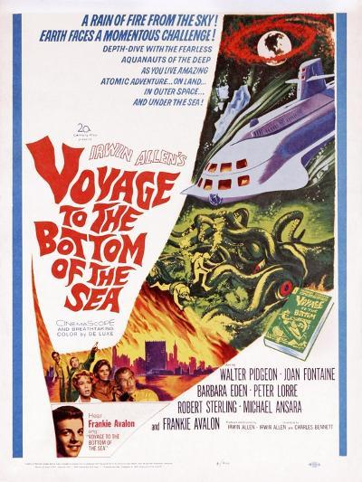 Voyage to the Bottom of the Sea--Art Print