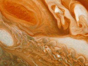 Voyager 1 Photograph of Jupiters' Great Red Spot