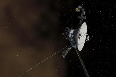 Voyager 1 Spacecraft Entering Interstellar Space--Art Print