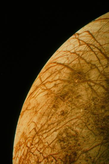 Voyager 2 Photo of Europa, One of Jupiter's Moons--Photographic Print