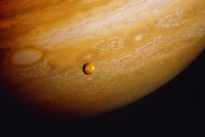 Voyager 2 Photo of Jupiter's Southern Hemisphere--Photographic Print