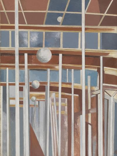 Voyages of the Moon-Paul Nash-Giclee Print