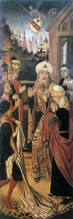 Jacob Crying over the Bloodstained Tunic of Joseph, 15th Century