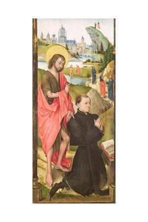 Kneeling Donor with Saint John the Baptist, C.1470