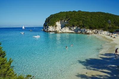Vrika Beach, Antipaxos, Antipaxi, Ionian Islands, Greek Islands, Greece, Europe-Tuul-Photographic Print