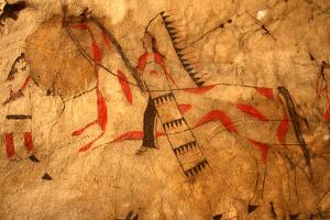 Native American Indian Background by vrjoyner