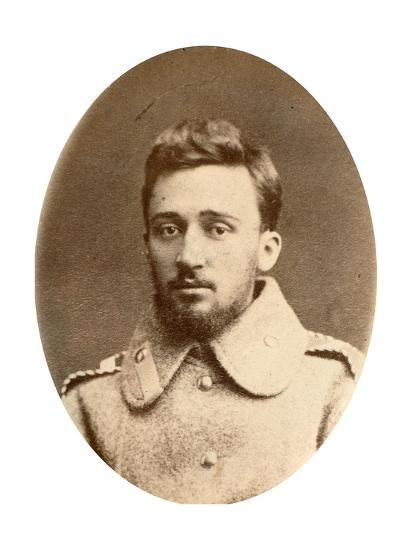 Vsevolod Garshin, Russian Author, 19th Century-A Engel-Giclee Print