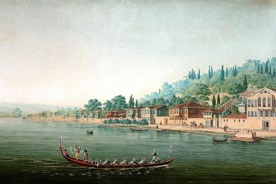 Vue De La Partie Central De Buyuk-Déré Ca. 1803-1809-Antoine Ignace Melling-Giclee Print