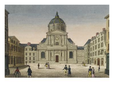 Vue de la Sorbonne vue de la place--Giclee Print