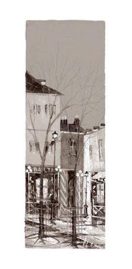Vue de Montmartre I-Aleksandre Kukolj-Art Print