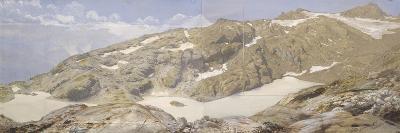 Vue des lacs blancs-Eug?ne Viollet-le-Duc-Giclee Print