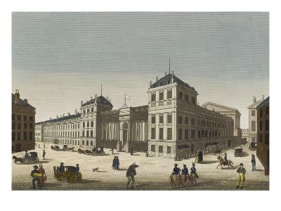 Vue du palais Bourbon--Giclee Print